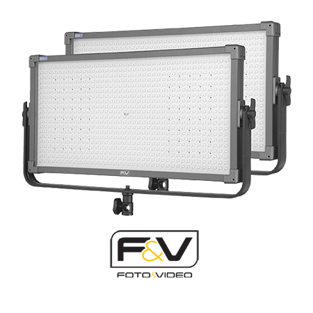 3'lü F&V K8000S Plus Bi-Color LED Işık Seti