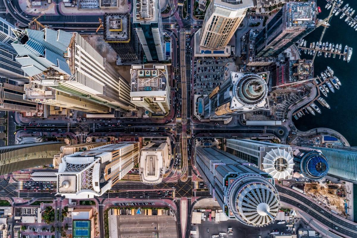 şehir kategorisinde en iyi drone fotografı