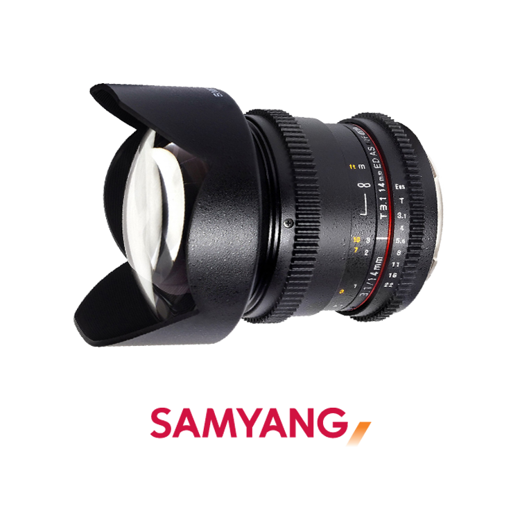 Samyan 14 mm T3.1 Video Lens